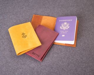 Classy Leather Cover For Passport