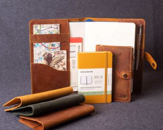 Leather Cover For Moleskine