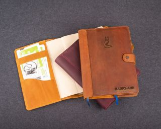A5 Leather Cover For Notebooks